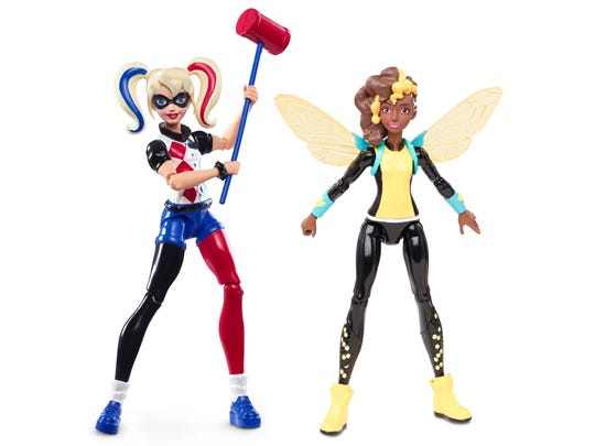 The 6-inch Super Hero Girls action-figure line includes