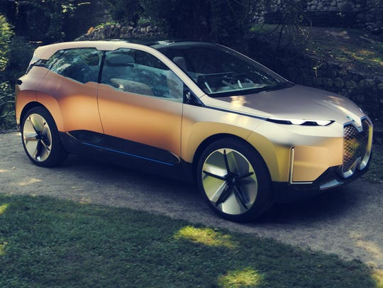 The BMW iNEXT will assume the role of a new technology