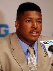 Purdue defensive end Ryan Russell in 2014