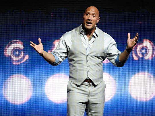Dwayne Johnson talks up his big-screen 'Baywatch' at