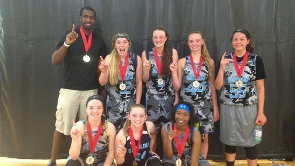 The Team Carolina-Asheville 16 and under girls basketball team won the Tennessee Premier Thunder Classic tournament last weekend in Kingsport, Tenn.