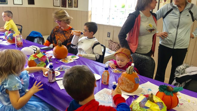 American Legion members hosted member kids for a Halloween party Oct. 30.