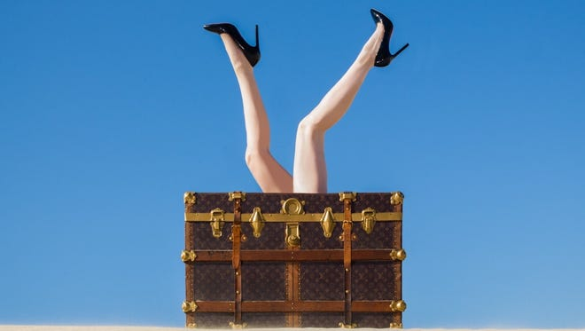 """Louis Vuitton Legs"" by Tyler Shields."