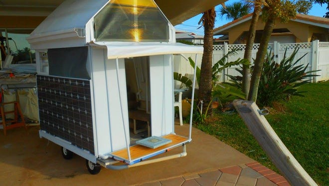 Brevard's Green Team Solar Shack. the team is holding an event from 4:30-7:30 p.m. Friday in Cocoa Beach.