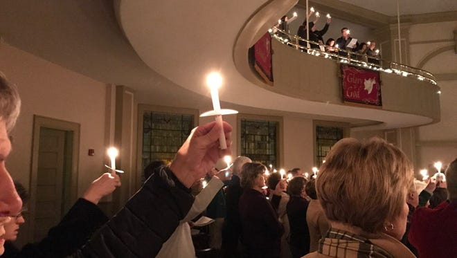 Carols and Candles 2016 service at First United Methodist Church in Jackson, Tenn.
