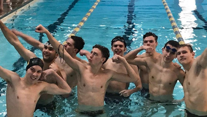 WNC high school swimmers competed in the annual Ironman swim meet this weekend.