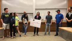 Local college students learn through giving to the community
