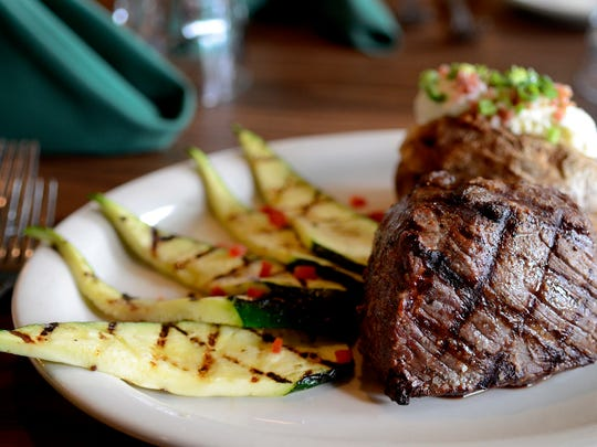 Rudy's Steakhouse, which is now located downtown, offers plated and buffet catering at two locations, including a large banquet space and a private room in the restaurant. The restaurant used to be located at the Salem Golf Club.