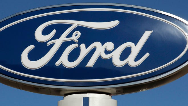 Ford sign.