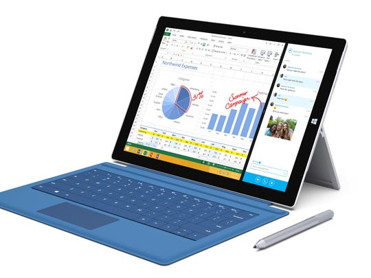 If you can't decide between a tablet and a laptop, the Surface Pro 3 is an option.