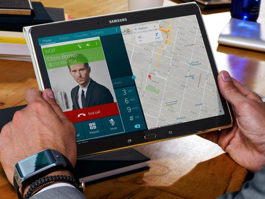 Available in 8.4- or 10.5 inches, Samsung's Galaxy Tab S are the company's most impressive tablets to date.