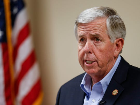 Lt. Gov. Mike Parson is expected to be sworn in as