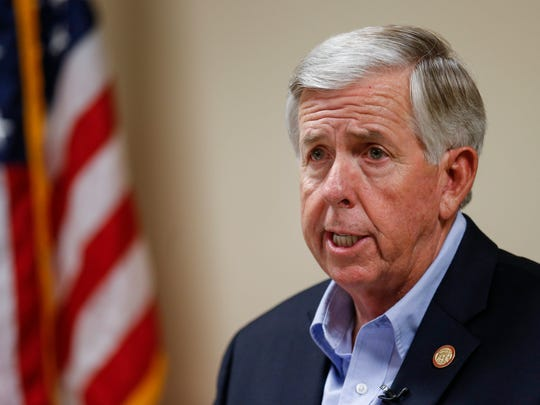 Missouri Gov. Mike Parson defended a state investigation into the state's lone abortion clinic and urged a judge not to intervene.