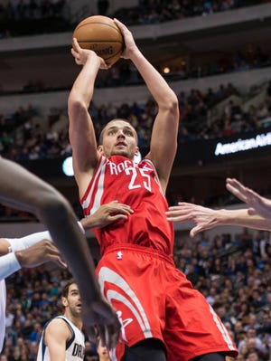 Chandler Parsons scored a team-high 26 points for the Rockets.