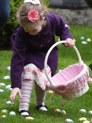 The annual Deepwood Easter Egg Hunt will be held from 1 to 3 p.m. Saturday, March 31.
