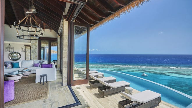Luxury villa for sale at Oil Nut Bay.