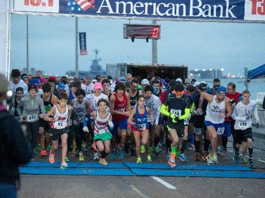 The Corpus Christi Half Marathon will be Saturday in downtown.