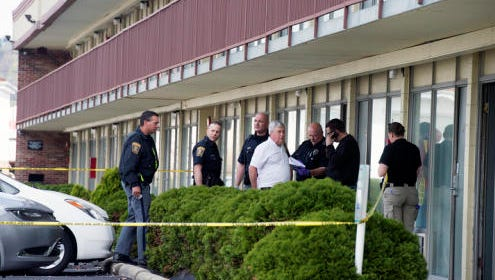 Three people were found dead at a Quality Inn in Springettsbury Township on April 17, 2015.