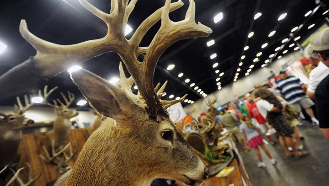 The Mississippi Wildlife Extravaganza is Friday through Sunday at the Mississippi Trade Mart.