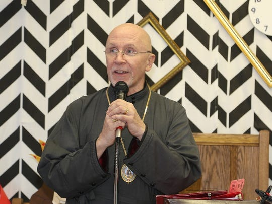 The Right Reverend Peter Eaton, Bishop of the Diocese of Southeast Florida, joined in the festivities.