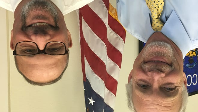 Sen. Ron Johnson, R-Oshkosh, and his chief of staff, Tony Blando are growing mustaches to raise awareness about prostate cancer.