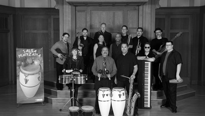 Salsa Manzana plays at Green Lake's Thrasher Opera House Friday, Nov. 25.
