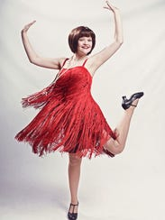 "Stella London in ""Thoroughly Modern Millie."""