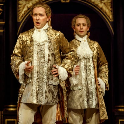Pictured from left to right, is  Iestyn Davies and