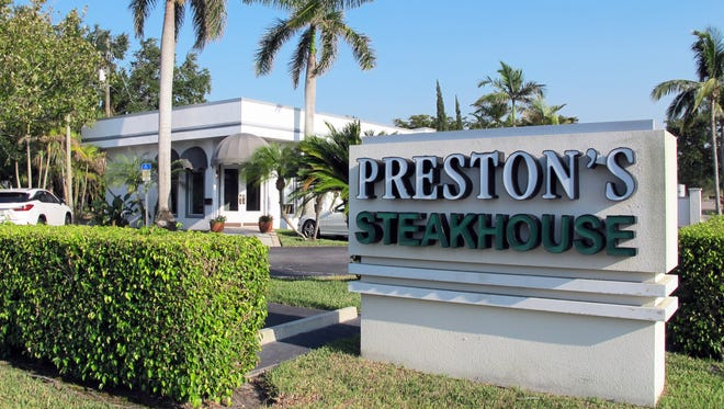 After operating for more than 20 years in downtown Naples, Preston's Steakhouse served its last steaks and cakes on Saturday, April 28.