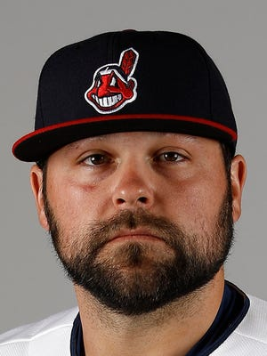 Joba Chamberlain in 2016 as a member of the Cleveland Indians.