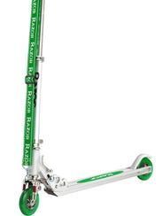 A Razor foot scooter from 2000.