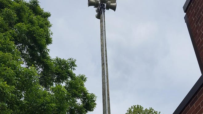 Tornado sirens in the city of Hudson will be tested April 7.