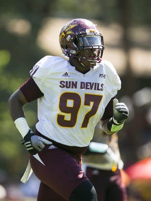 ASU defensive end Edmond Boateng wants to play in the NFL but also is well on his way to a future as an artist.