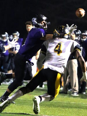 Piscataway's Marcel Mason (4) will play for the Snapple Bowl's Middlesex County team.