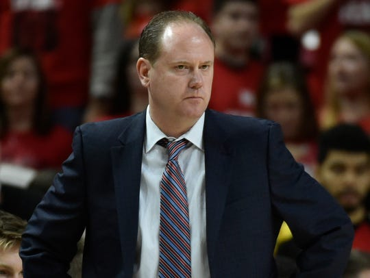 UW men's basketball coach Greg Gard will hold a fundraising event for his Garding Against Cancer program that he began with his wife Michelle in December of 2016.