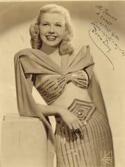 "Doris Day recorded hit songs like ""Sentimental Journey"" in the 1940s."