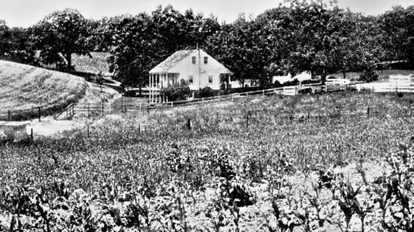 The summer months of 1863 served as a big moment in the Civil War. In York County, Gen. John B. Gordon, one of Jubal A. Early's lieutenants, stayed overnight in this house in Farmers, west of York. This is where he received the York delegation that surrendered the town. The next morning, June 28, 1863, Gordon's troops marched into York, leading the two-day occupation of York County's largest borough. Jubal Early, division commander, soon demanded a ransom that must be fulfilled lest he burn the town.