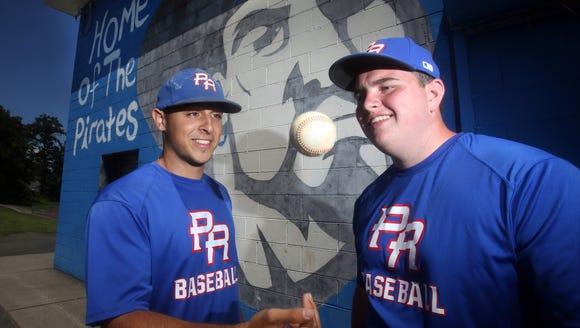 Chris Sabino, left, and Joe Sassano, both of Pearl