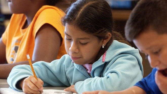 FLORIDA TODAY 2008 file photo showing summer school 3rd graders at Endeavour Elementary Magnet school.