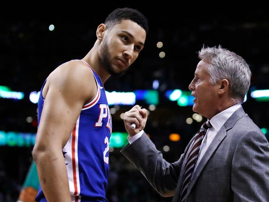 Brett Brown, Ben Simmons