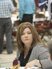 Beth Cosenza, of Ouachita Independent Bank, talks