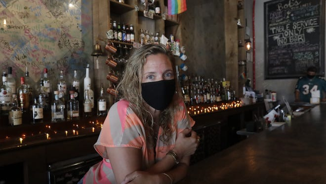 Danielle Savin owns two bars - one in New York, the other in Miami Beach - that were forced to shut down for months. When the pandemic first hit and New York was the country's epicenter, she feared for that business. But now the two states have flip-flopped.