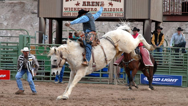 The rodeo is one of the highlights during the annual Gold Rush Days event in Wickenburg.