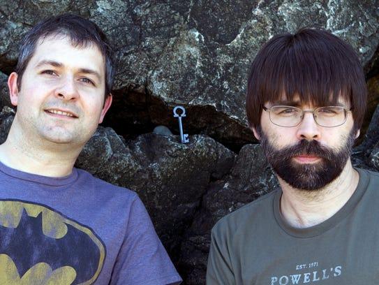 """Locke & Key"" creators Gabriel Rodriguez and Joe Hill"