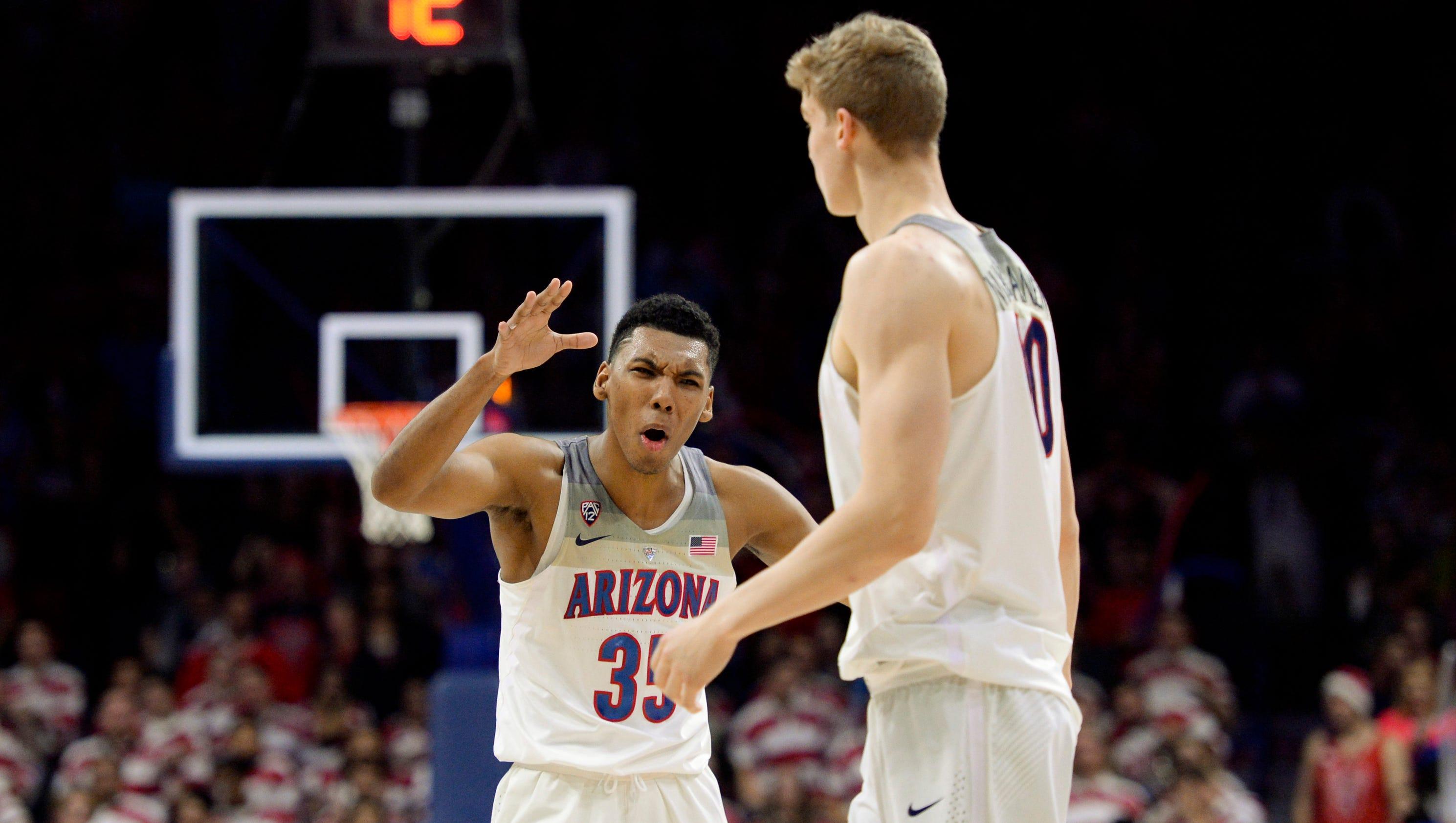 Arizona Wildcats vs. Stanford Cardinal men's basketball