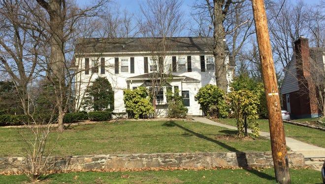 The home of former Yonkers Mayor John Spencer on Kingston Avenue.