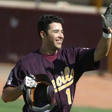 Andre Ethier was a two-time All-Pac-10 selection in baseball (2002, '03), hitting .371 with 48 extra-base hits and 118 RBIs in his ASU career.