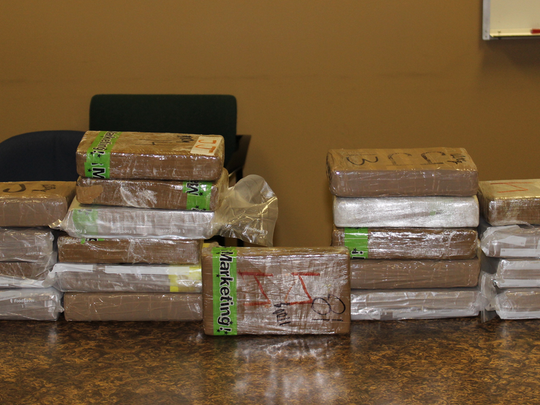 Local and federal authorities busted a drug trafficking operation with ties to Mexico after launching an investigation into an Oxnard man.