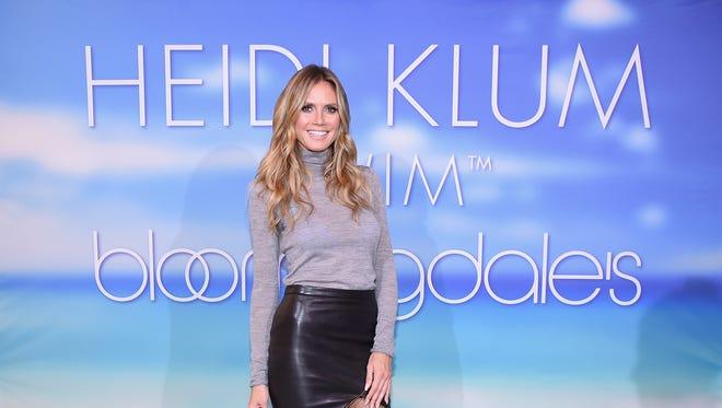 Heidi Klum, your friendly neighborhood model, designer and TV personality.
