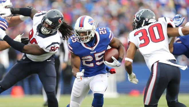 It was not a good week for Bills running back LeSean McCoy.